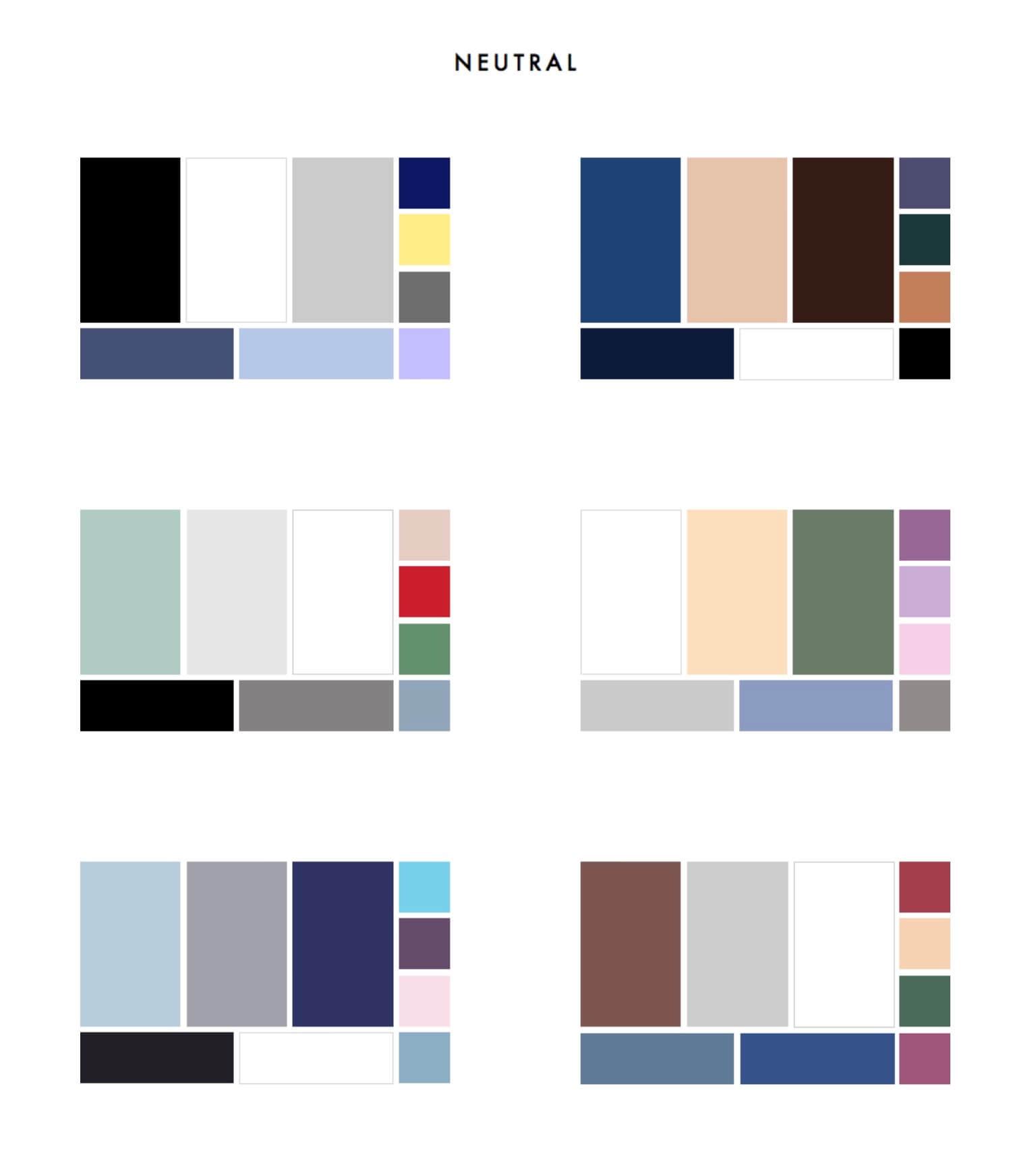 combinacion colores neutros